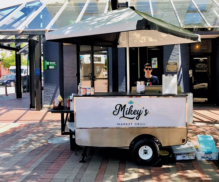 Michael DiMaggio of Mikey's Market Grill - JORDAN BARRY