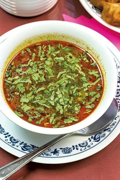 Chicken soup - OLIVER PARINI