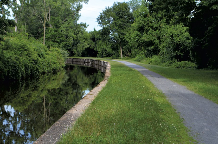 The Feeder Canal Heritage Trail in Glens Falls - PHOTOS KEN PICARD
