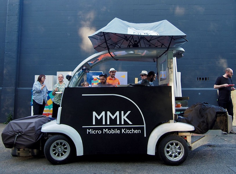 Micro Mobile Kitchen - COURTESY OF CHRISTINE HILL