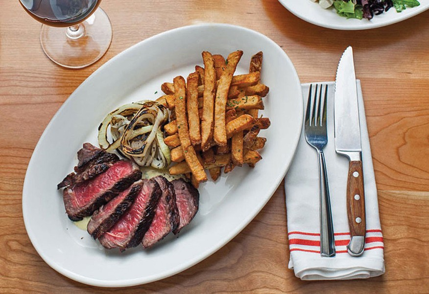 Steak frites at Guild Tavern - COURTESY OF GUILD TAVERN