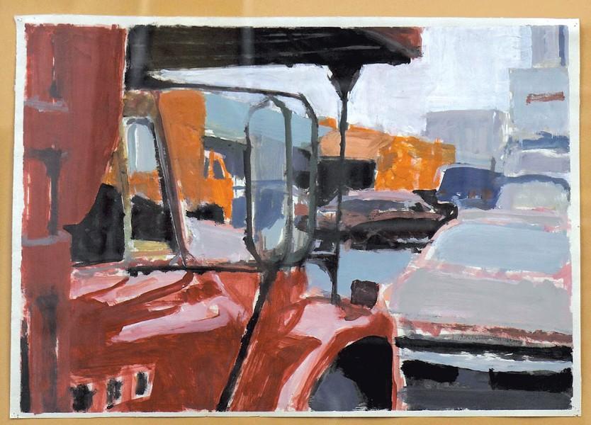 """Red Truck,"" Flora Natapoff"