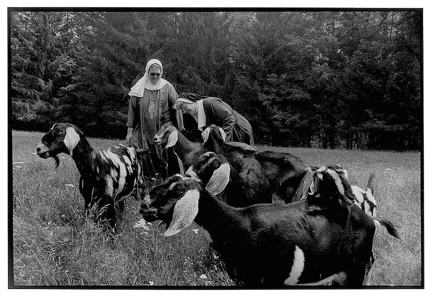 """""""The Sisters of St. Mary's Convent Northern Spy Farm, Vermont"""" - COURTESY OF BMAC"""