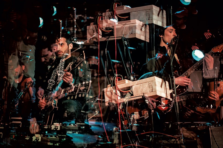 The Dead Shakers - COURTESY OF LUKE AWTRY PHOTOGRAPHY