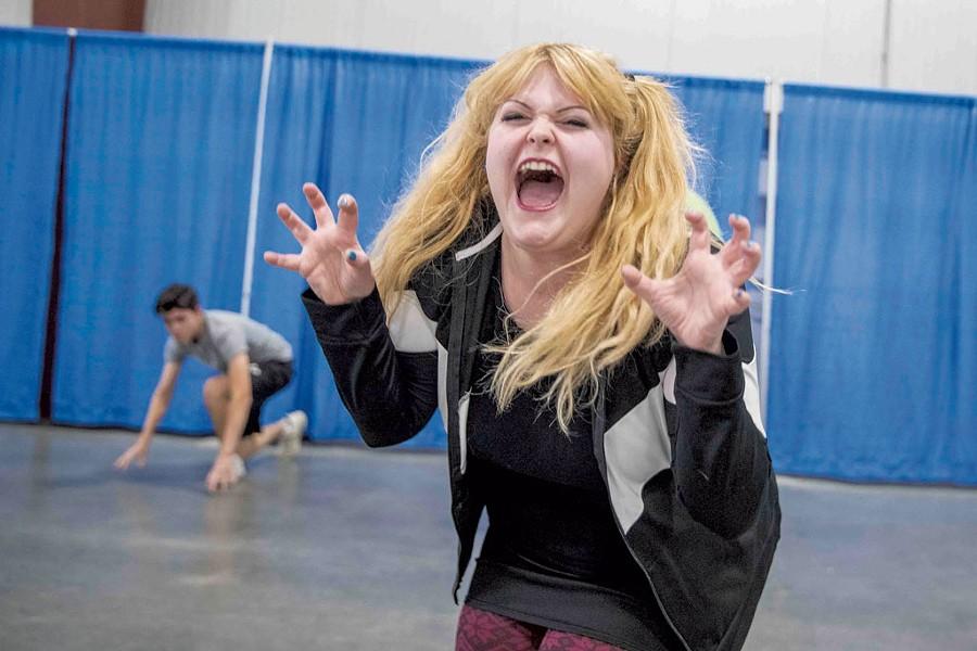 Scenes from Nightmare Vermont auditions - JAMES BUCK