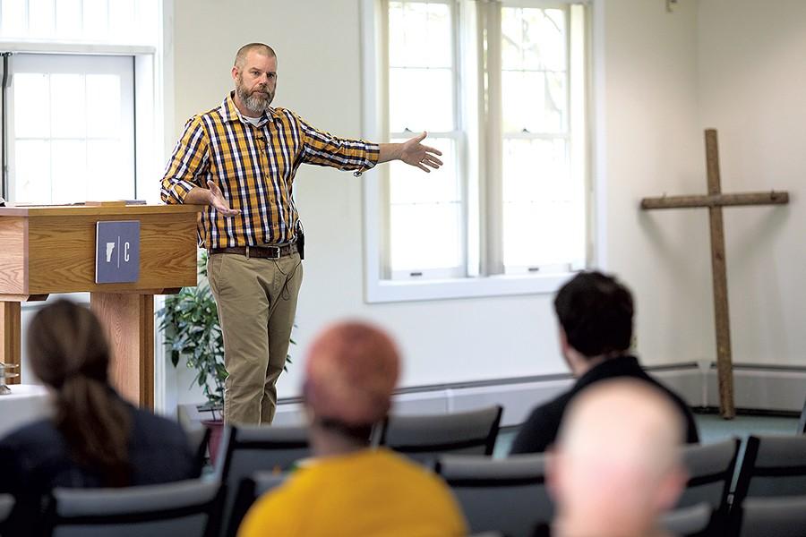 Cornerstone Church Pastor Marty Bascom - BEN DEFLORIO