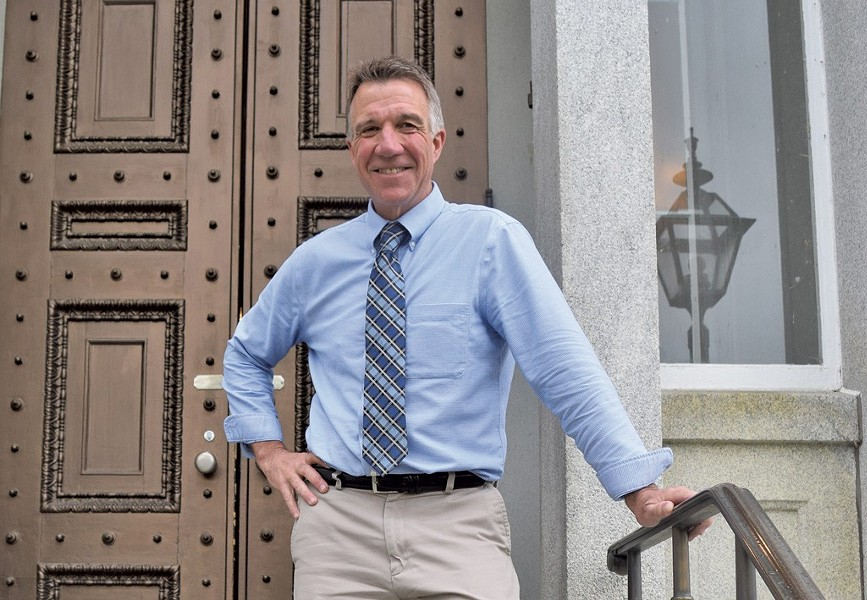 Lt. Gov. Phil Scott - FILE: TERRI HALLENBECK