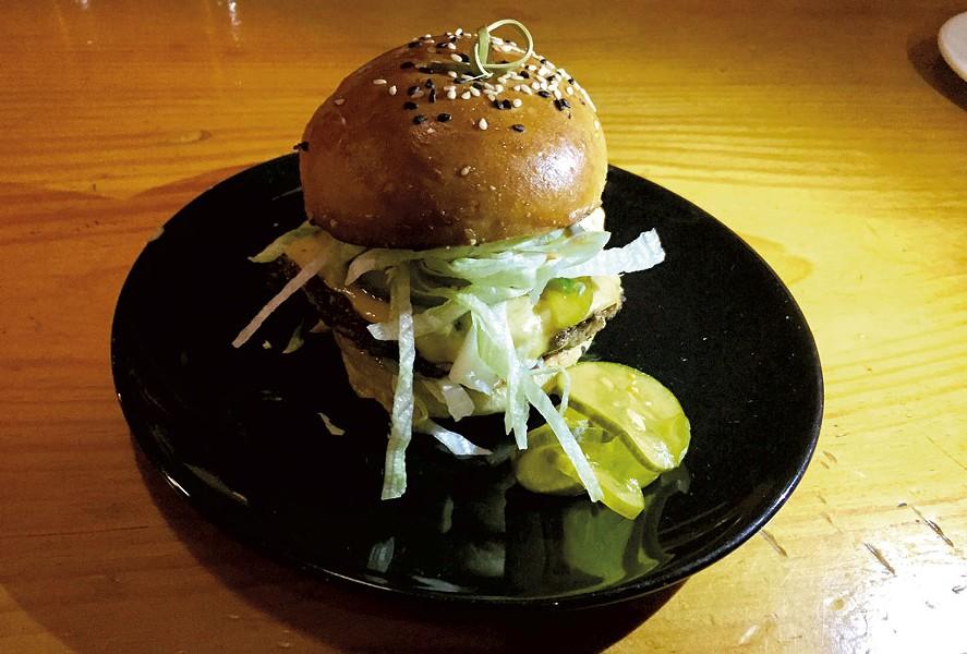 400 Burger at ArtsRiot - SALLY POLLAK