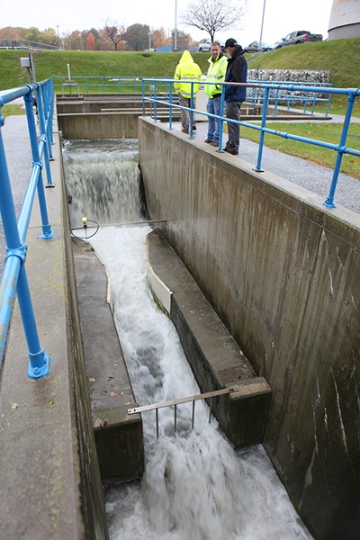 Heavy rains pushed the Rutland stormwater system beyond its capacity last week. - KEVIN MCCALLUM