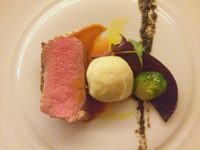 Sous-vide local lamb - ALICE LEVITT