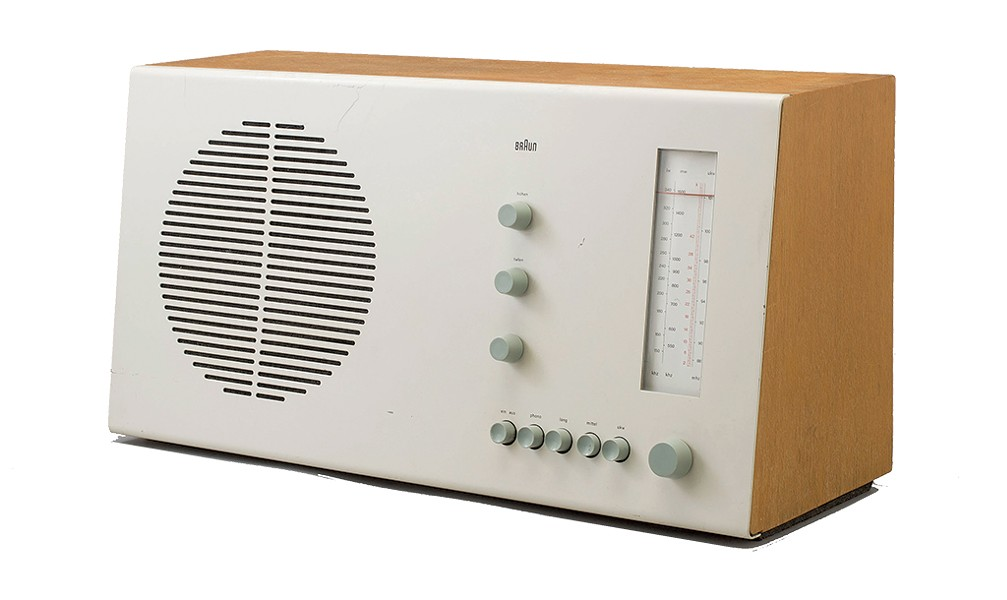 Tischsuper RT 20 Radio, 1961, by Dieter Rams for Braun - COURTESY PHOTO