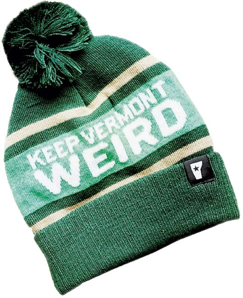 Keep Vermont Weird beanie - COURTESY PHOTO