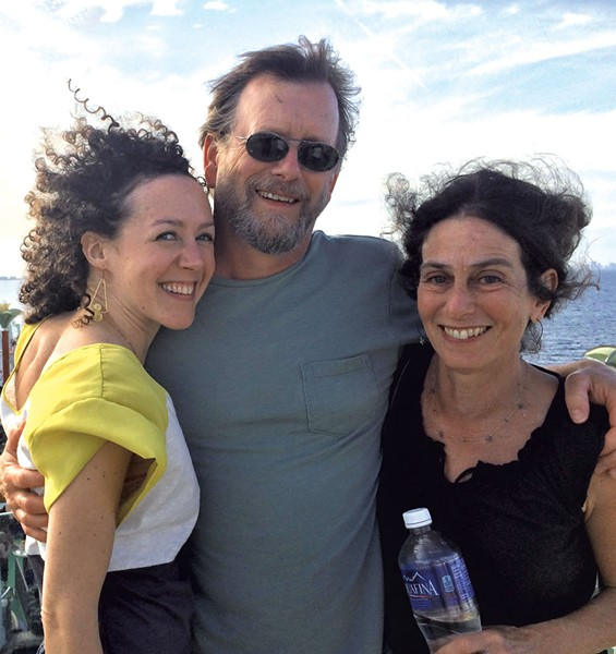 Lara Maloy, Brad Sourdiffe and Joan Furchgott - COURTESY OF LARA MALOY