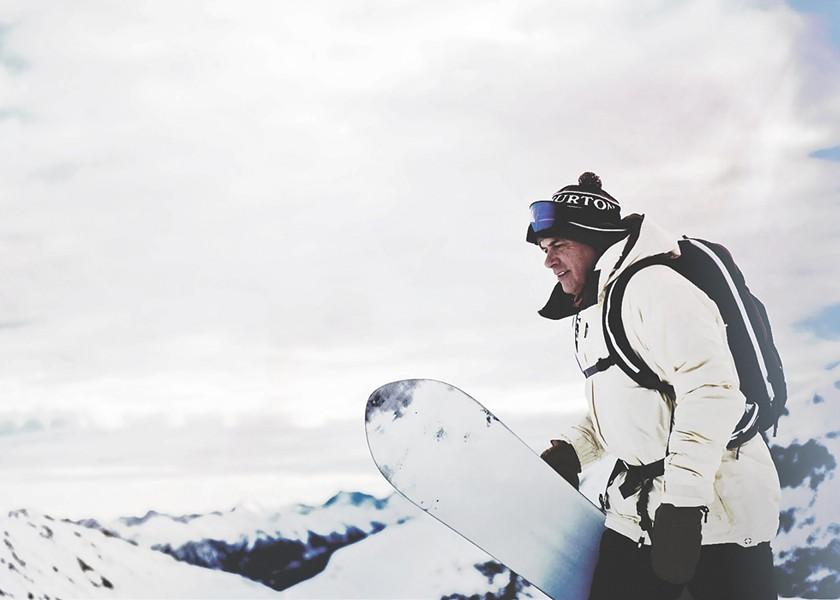Jake Burton Carpenter - COURTESY OF BURTON SNOWBOARDS