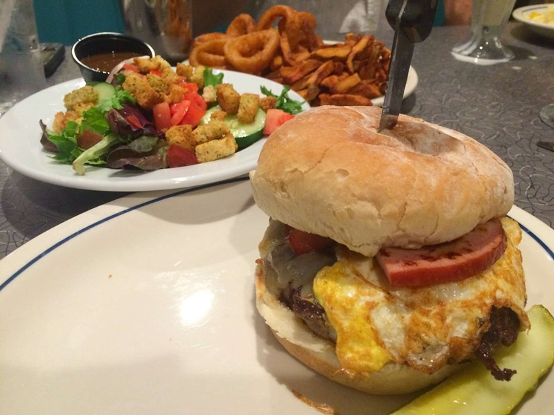 Vermont maple burger, $10.99 - ALICE LEVITT