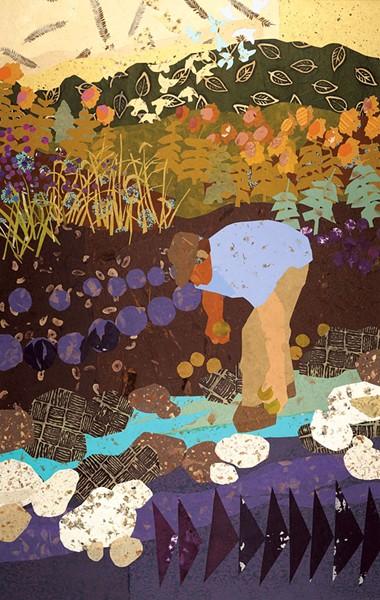 """""""Angus Baldwin, Vermont Farmer"""" by Bonnie Acker"""