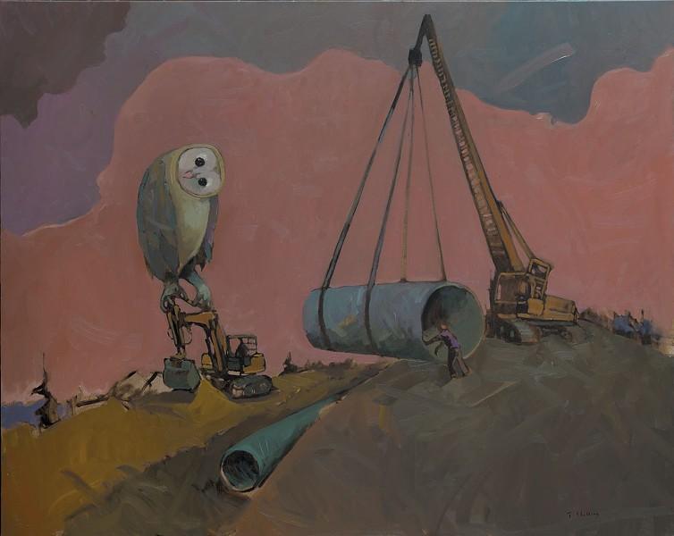 """Owl"" - COURTESY OF BCA CENTER"