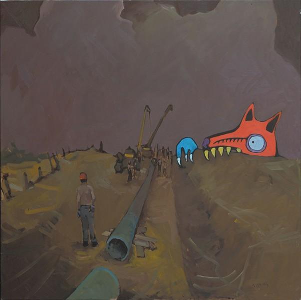 """The Excavator #2"" - COURTESY OF BCA CENTER"