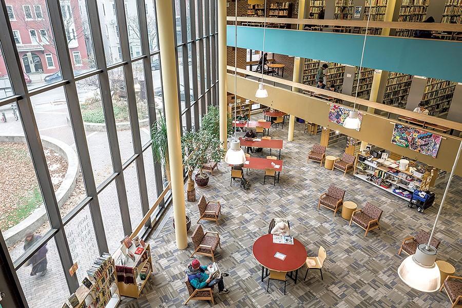 Fletcher Free Library - FILE: OLIVER PARINI