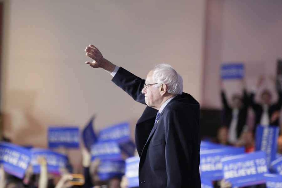 Sen. Bernie Sanders campaigns in Iowa during the 2016 election - FILE: KRISTIAN DAY
