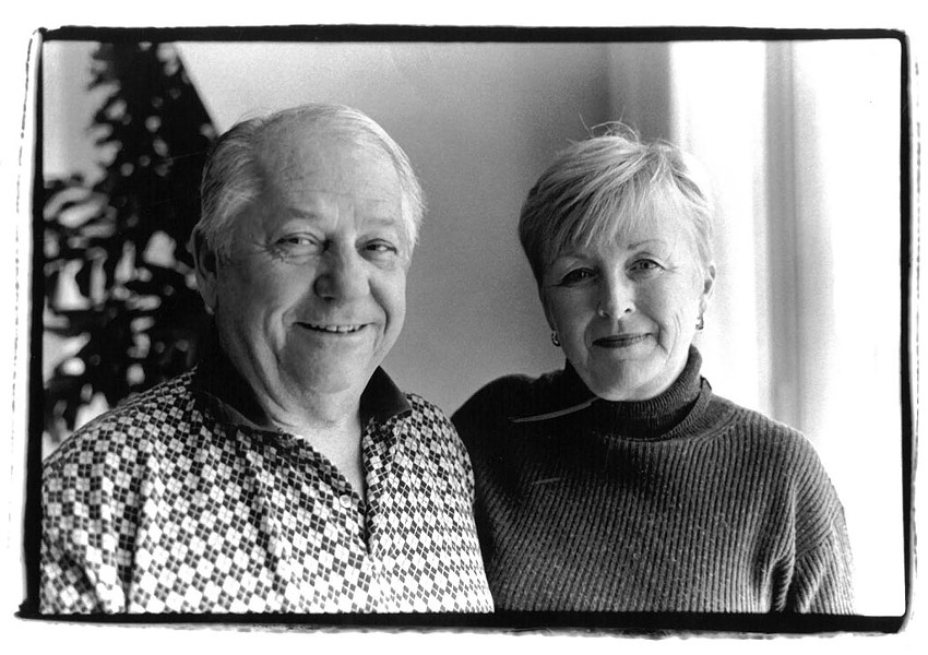 """Robert """"Bobby"""" Miller and his wife Holly in 2000 - PAULA ROUTLY"""