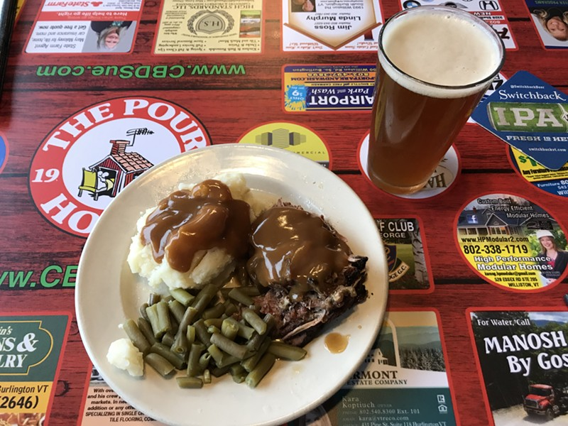 Pot roast and beer at the Pour House - SALLY POLLAK