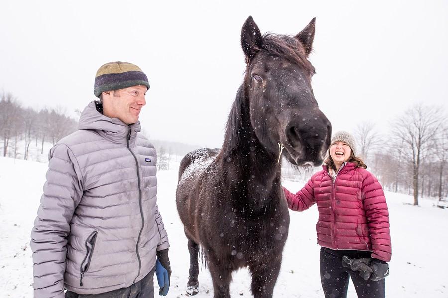 George van Vlaanderen, Indy and Kristan Doolan - LUKE AWTRY