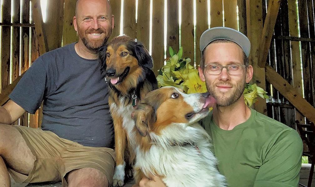 Bailey Hale and Thomas McCurdy of Ardelia Farm & Co. - COURTESY PHOTO