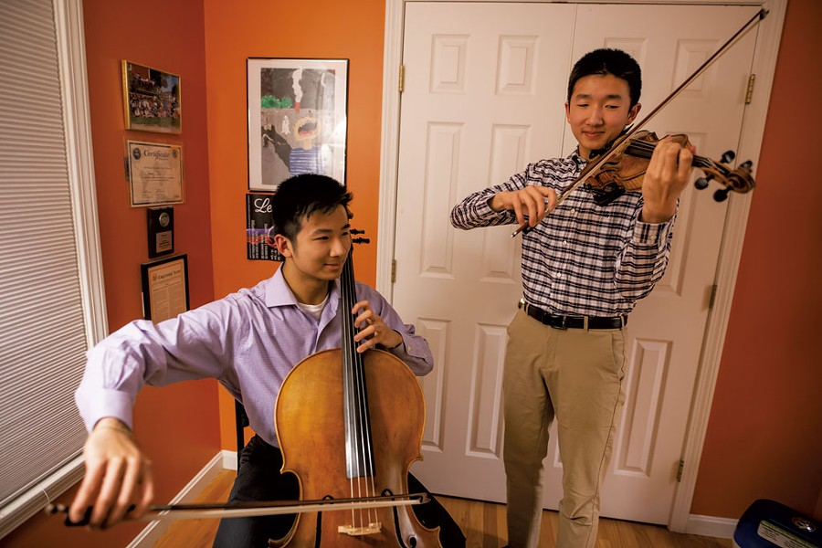 Henry and Nathan Wu - LUKE AWTRY
