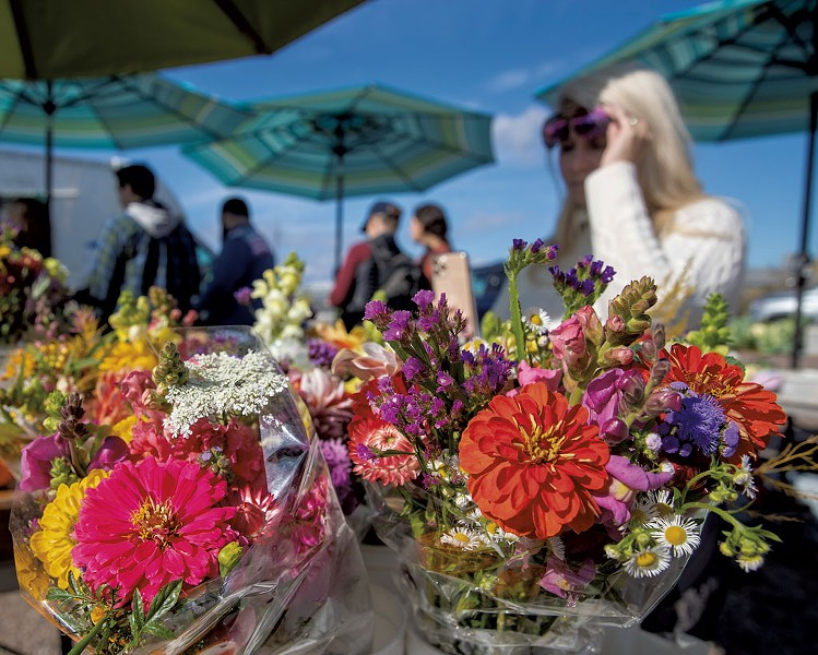 Fresh-cut blooms at the market - FILE: JAMES BUCK