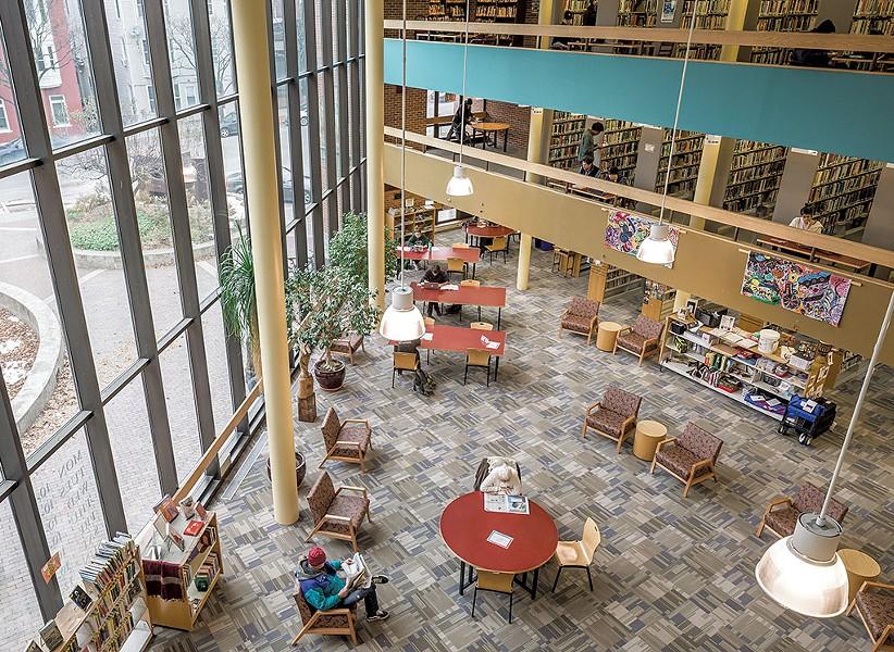 Fletcher Free Library, November 2019 - OLVIER PARINI
