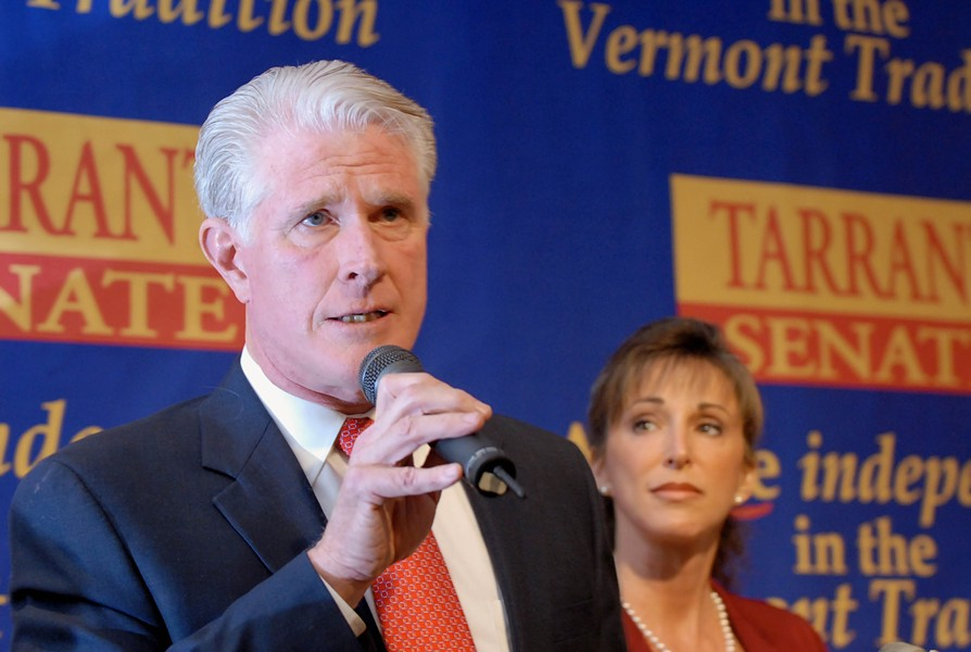 Republican Senate candidate Rich Tarrant conceding - ASSOCIATED PRESS