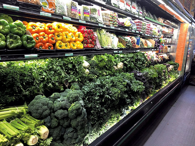 Produce at a grocery store - FILE: ALICE LEVITT