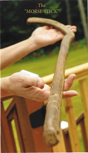 The Morse Stick - COURTESY OF APRIL MALONEY
