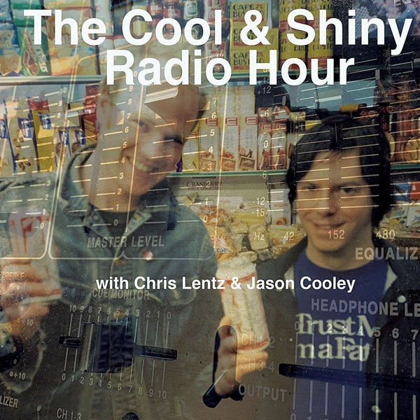 """Blue Button's Jason Cooley and his old friend and bandmate Chris Lentz launched """"The Cool & Shiny Radio Hour"""" - COURTESY PHOTO"""