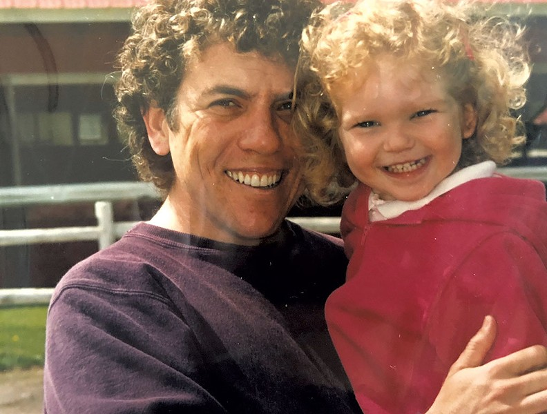 Marc Kamhi and his daughter, Joanna - COURTESY IMAGE