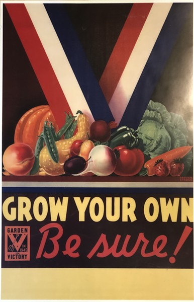 "The Vermont Victory Garden project embraces the ""Grow Your Own"" concept of the World War II victory garden movement. - COURTESY OF GORDON CLARK/UVM EXTENSION"