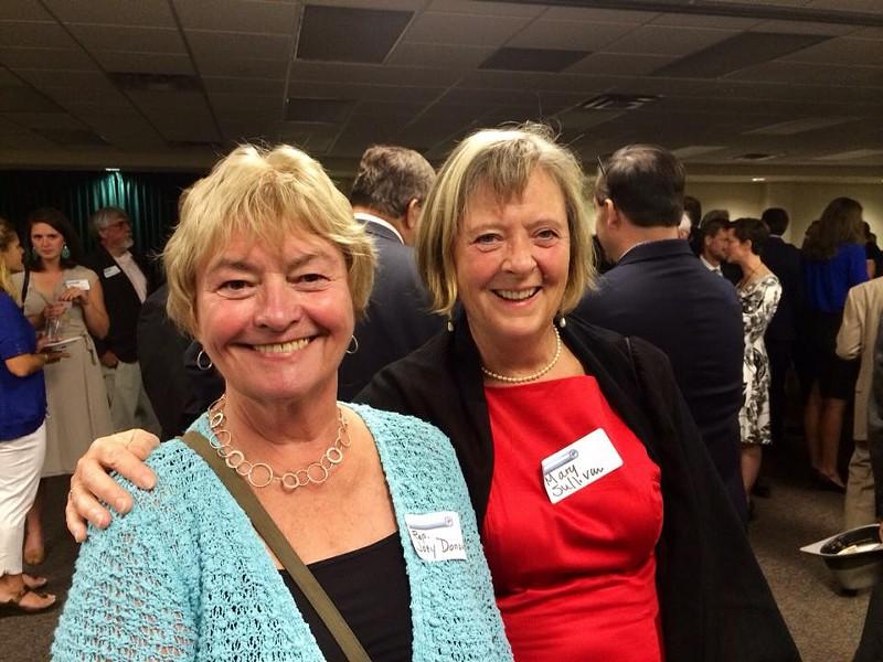 Reps. Johannah Donovan (left) and Mary Sullivan - COURTESY: MARY SULLIVAN