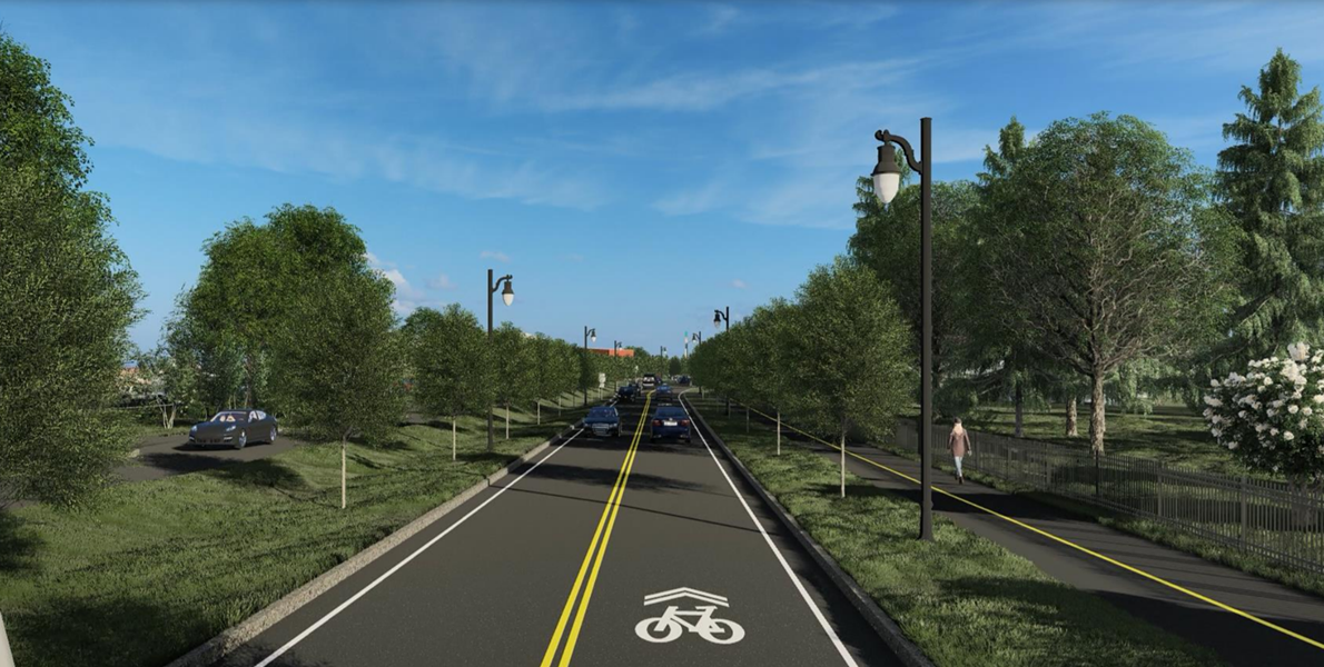 Champlain Parkway plans, from Home Avenue to Lakeside Avenue - CITY OF BURLINGTON