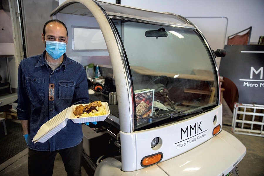 Daryoush Khamnei of Micro Mobile Kitchen - JAMES BUCK