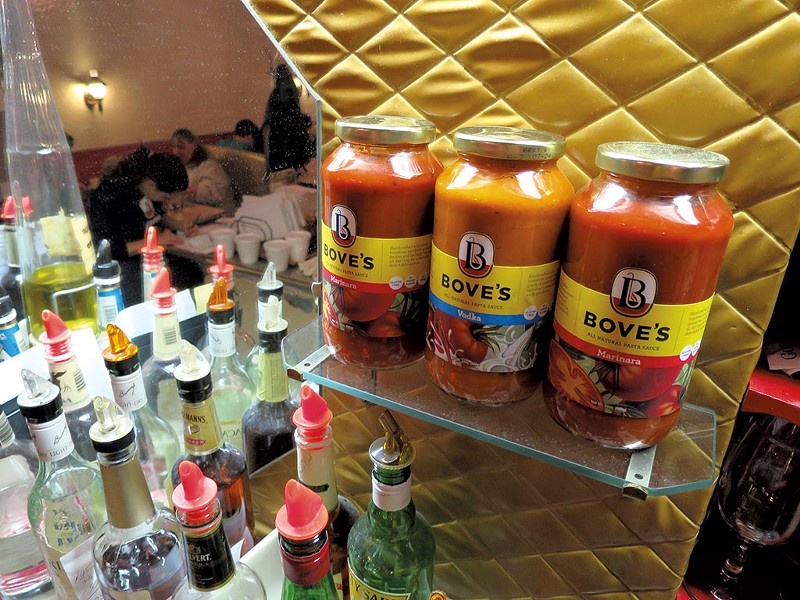 Bove's sauces - PHOTOS: MATTHEW THORSEN