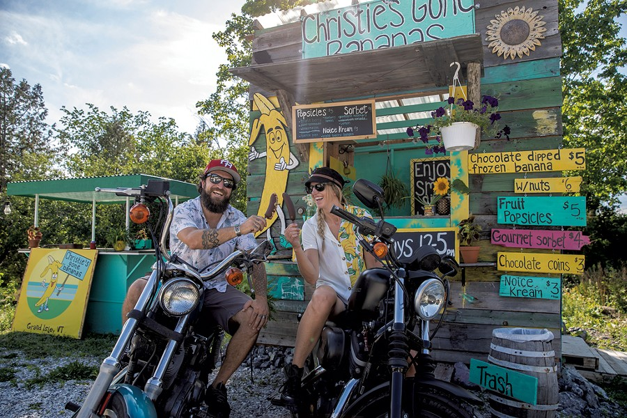 Christie and Matt Farkas of Christie's Gone Bananas - JAMES BUCK