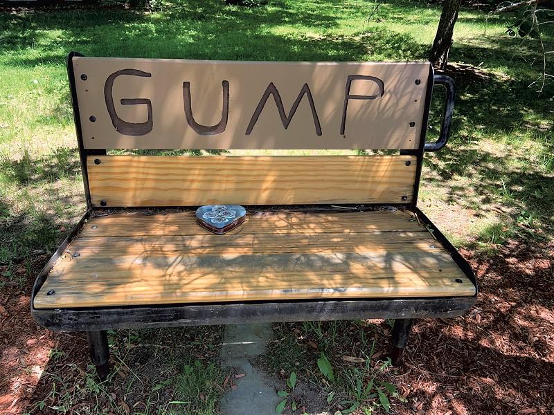 """GUMP"" bench - KEN PICARD"