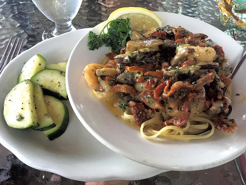 Shrimp Marco at Ruthcliffe Lodge & Restaurant - PAULA ROUTLY