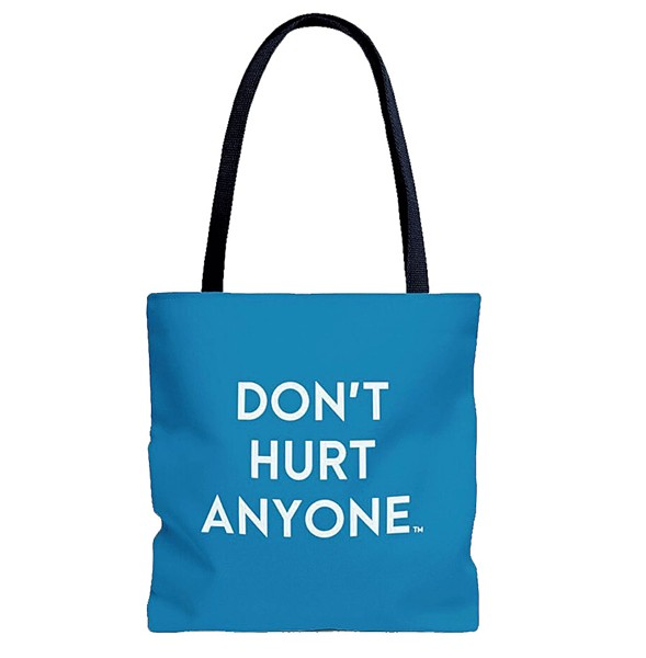 A tote bag - COURTESY