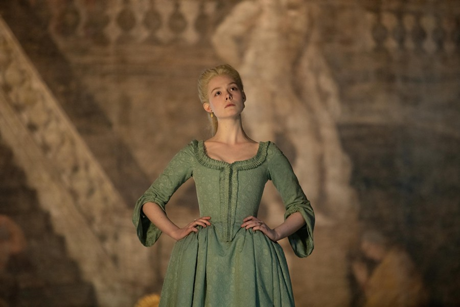 "Elle Fanning in ""The Great"" - ANDREA PIRRELLO/HULU"