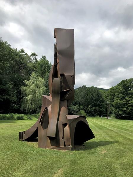 """""""Zeus"""" by Paul Aschenbach at the Bundy Modern - SALLY POLLAK ©️ SEVEN DAYS"""