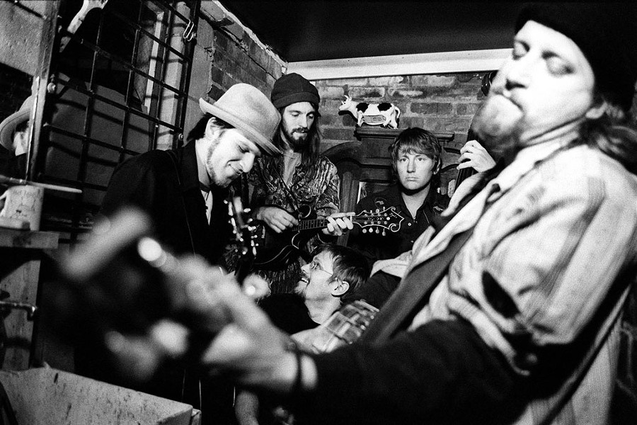 Top photo: The Benders Band, from left: Jabe Beyer, Sean Staples, Tim Kelly, Nolan McKelvey and Bow Thayer - COURTESY OF CATHERINE CARTER