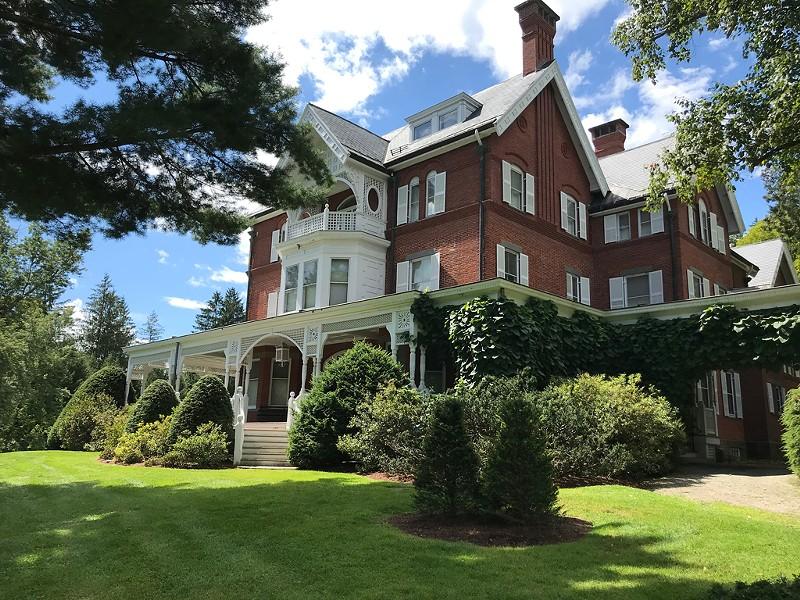 The mansion at Marsh-Billings-Rockefeller National Historical Park - SALLY POLLAK ©️ SEVEN DAYS