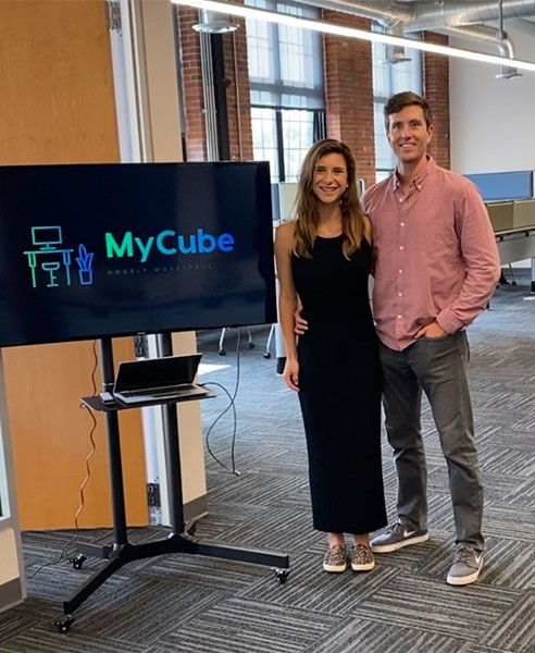Owners Gretchen Tarrant and Chris Gulla - COURTESY OF SARAH LAVOIE FOR MYCUBE